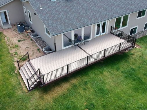 Falcon Deck Builder, Fortress Evolution Framing, StoneCroft Construction, StoneCroft Steel Frame Stairs, Trex Deck Falcon Colorado, Trex Deck Colorado Springs, Trex Deck Builder Falcon Colorado, Steel Frame Deck Builder, Composite Deck Falcon Colorado, De
